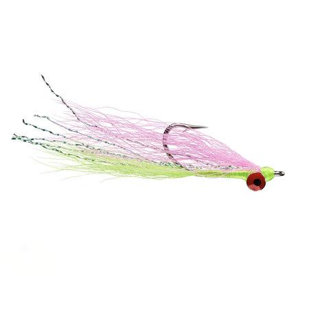 Clouser Minnow Pink/Chartreuse