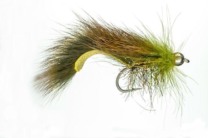 Jake's CDC Squirrel Leech