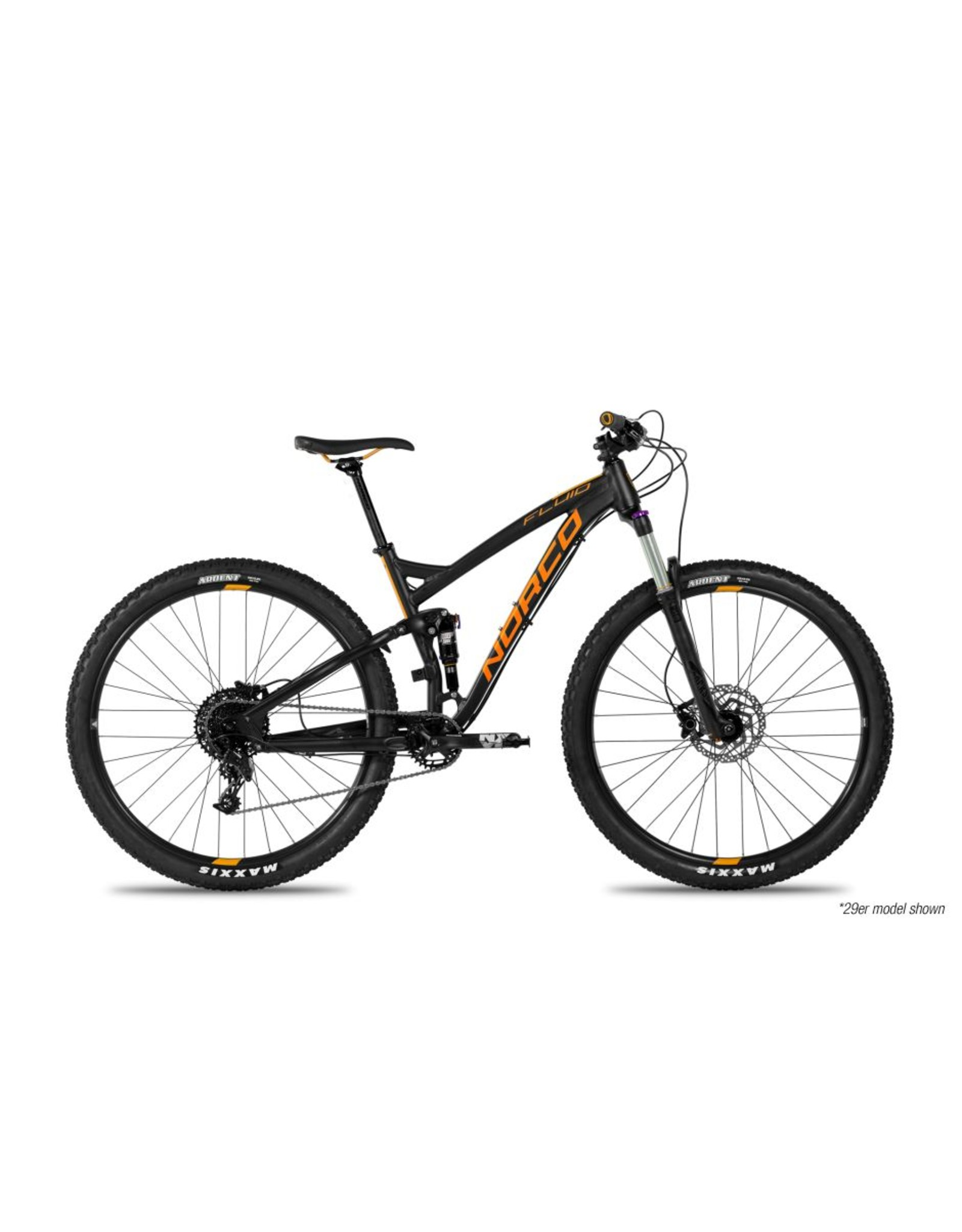Norco FLUID 3 FS BLACK/ORANGE L29