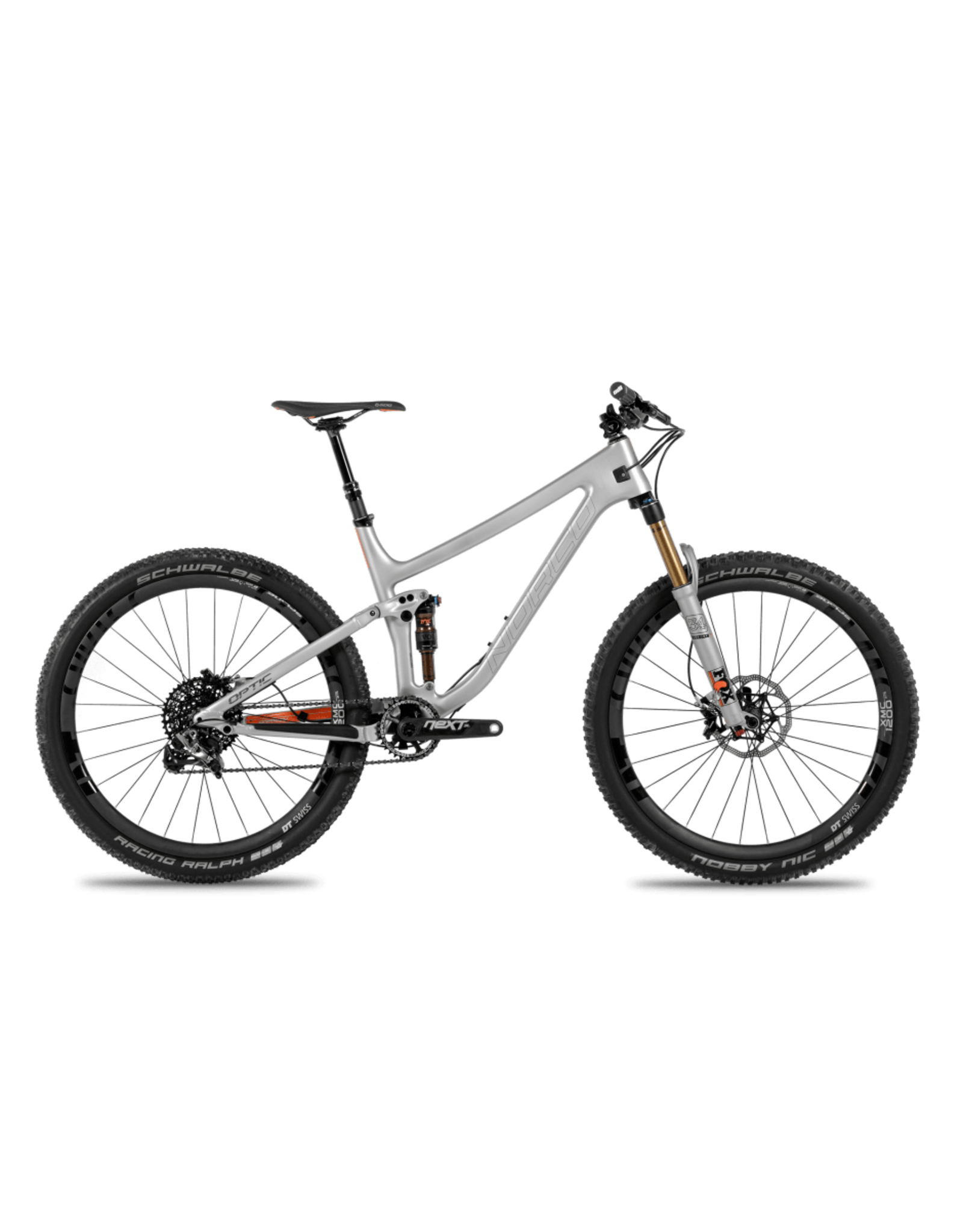 Norco Optic C.1 Silver/Orange XS