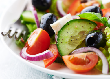 Greek Salad with Dill