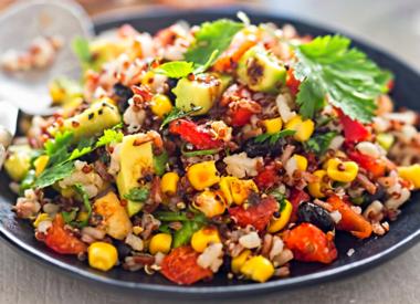 Southwest Salad Vinesation Style