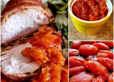 Smoked Tomato Ginger Jam