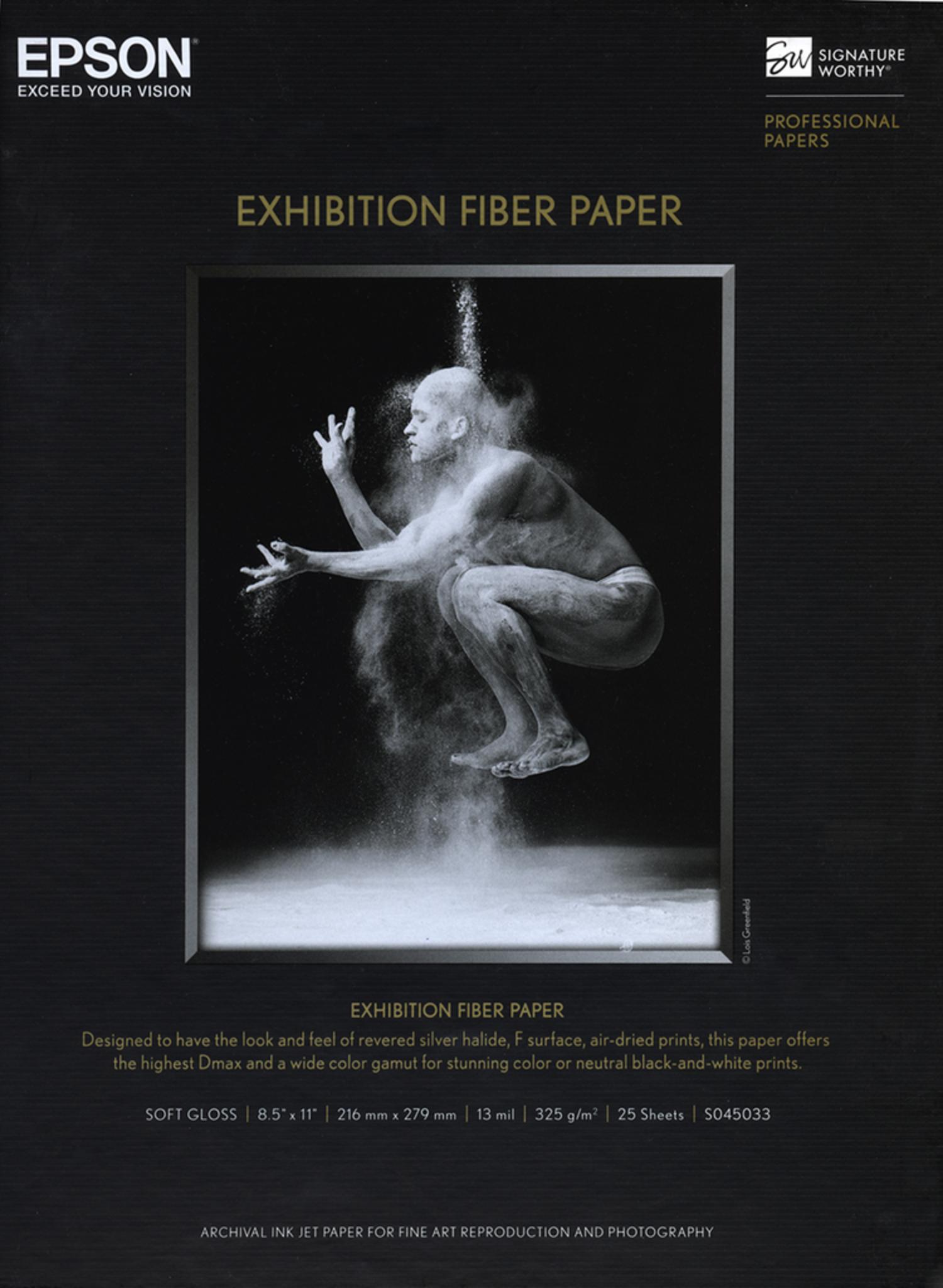 Epson Exhibition Fiber Paper - 13x19 - 25 Sheets