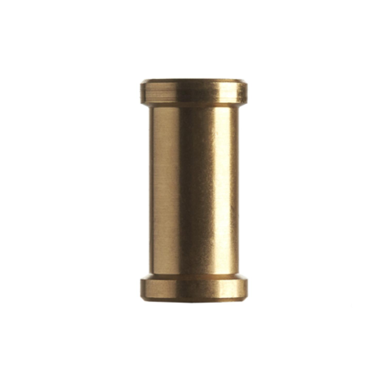 Promaster SHORT SPIGOT 1//4-20F TO 3//8F BRASS