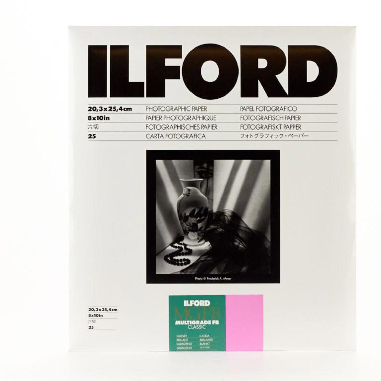 Ilford Multigrade FB Classic Paper Glossy, 8 x 10, 250 Sheets