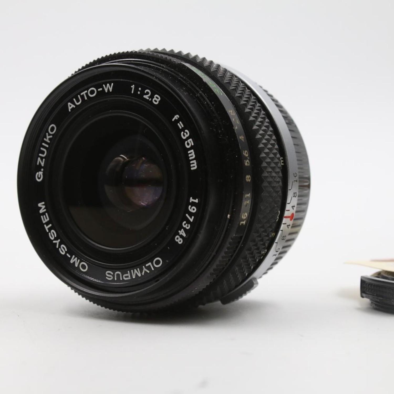 Olympus Preowned Olympus OM 35mm f/2 8 Lens