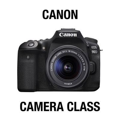 CANON ALPHA CAMERA CLASS: GETTING STARTED