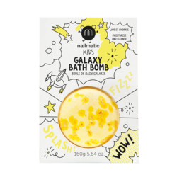 Nailmatic Kids  Bath Bomb Crackling Yellow