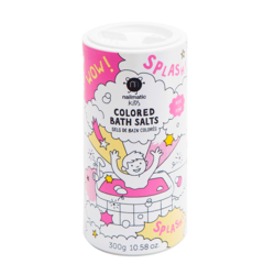 Nailmatic Kids Colored Bath Salts - Pink