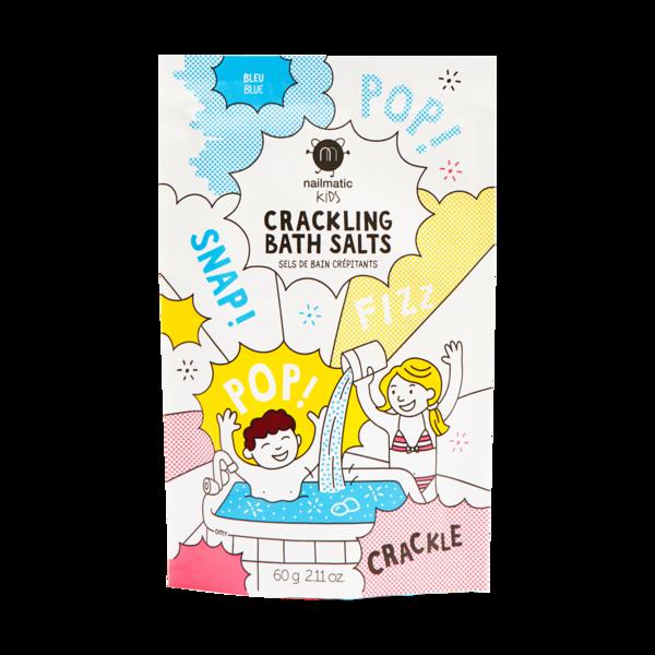 Nailmatic Kids Crackling Bath Salts Blue