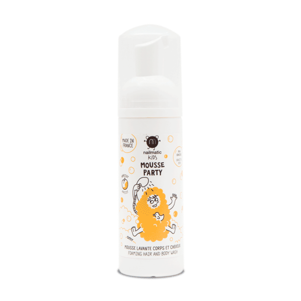Nailmatic Kids Mousse Party Hair + Body Wash - Apricot