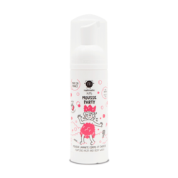 Nailmatic Kids Mousse Party Hair + Body Wash - Strawberry