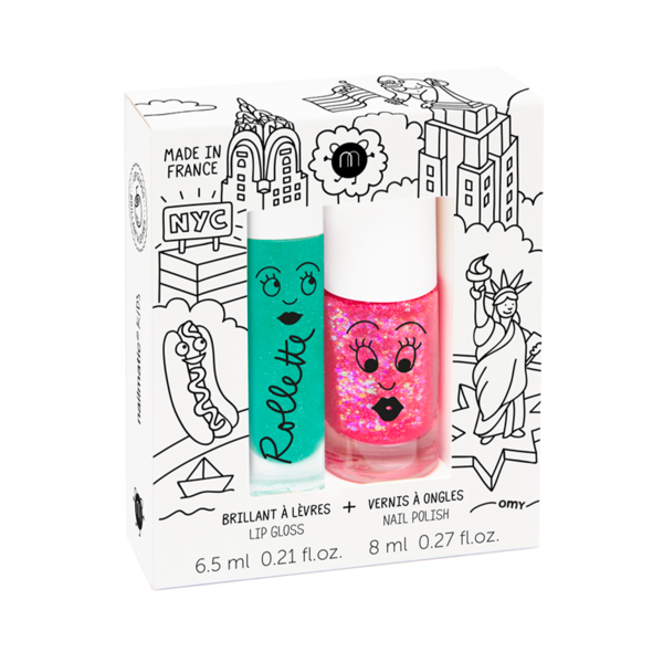 Nailmatic Kids Duo Set New York