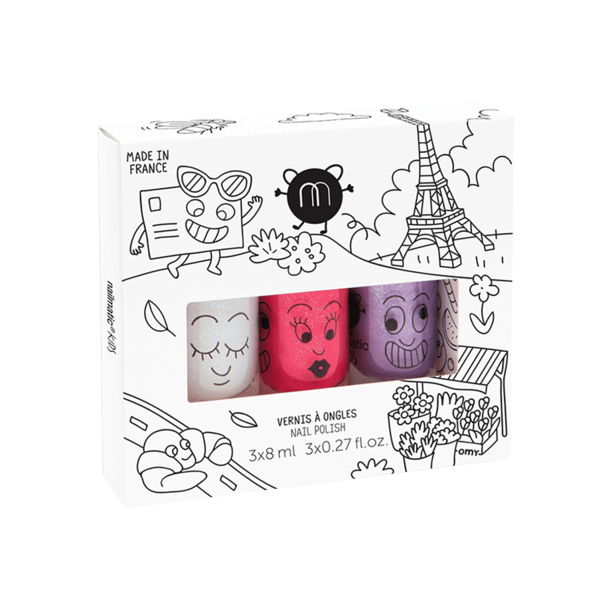 Nailmatic Kids Trio Set City