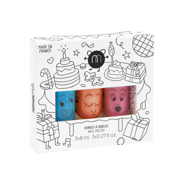 Nailmatic Kids Party Trio Set