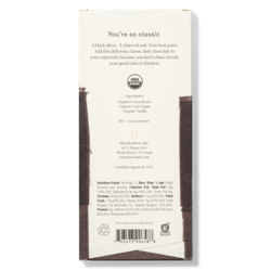 Mast Organic Dark Chocolate Bar