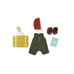 Olli Ella Dinkum Doll Travel Togs - Mustard