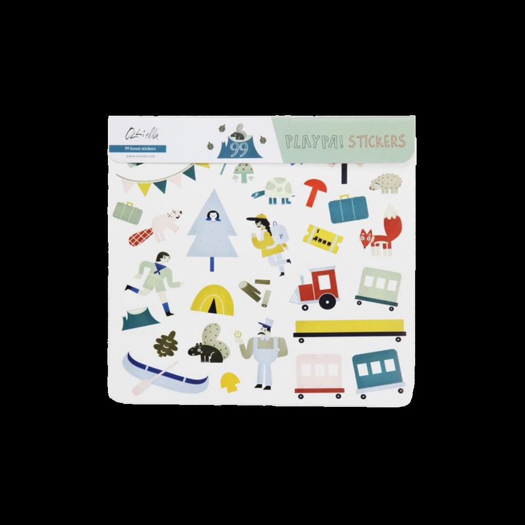 Olli Ella Playpa Stickers - Forest