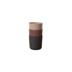 Cink Bamboo Mugs 3-pk - Ocean/Beet/Fog