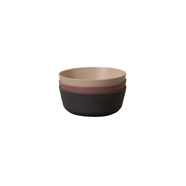 Cink Bamboo Bowls 3-pk - Ocean/Beet/Fog