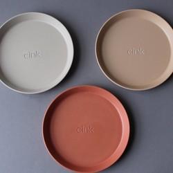 Cink Bamboo Plates 3-pk - Brick/Rye/Fog