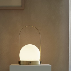 Menu Carrie LED Lamp - Brushed Brass