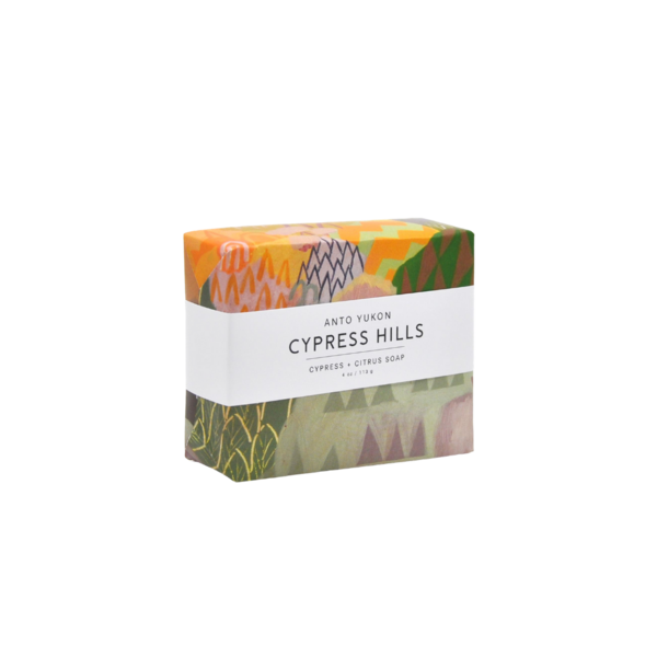 Anto Yukon Natural Soap - Cypress Hills