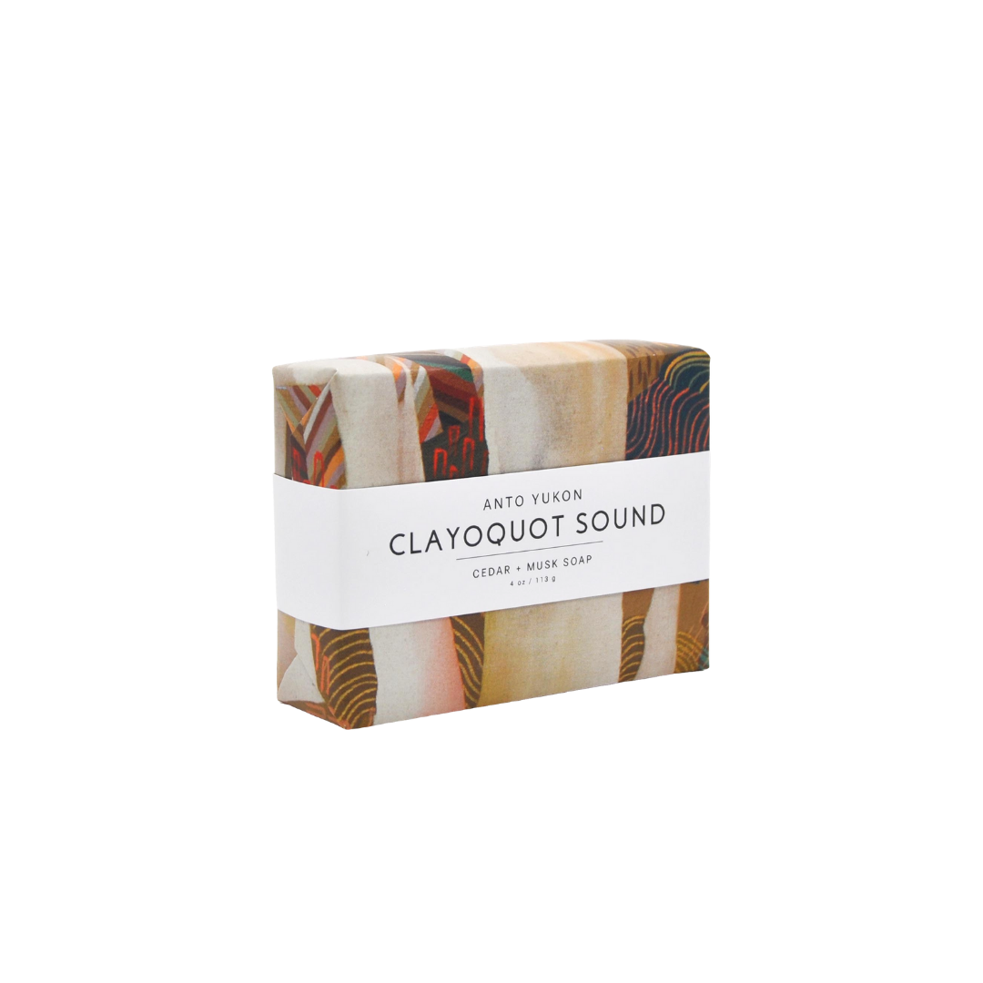 Anto Yukon Natural Soap - Clayoquot Sound