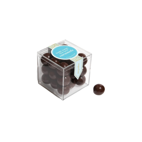 Sugarfina Dark Chocolate Sea Salt Caramels Candy Cube