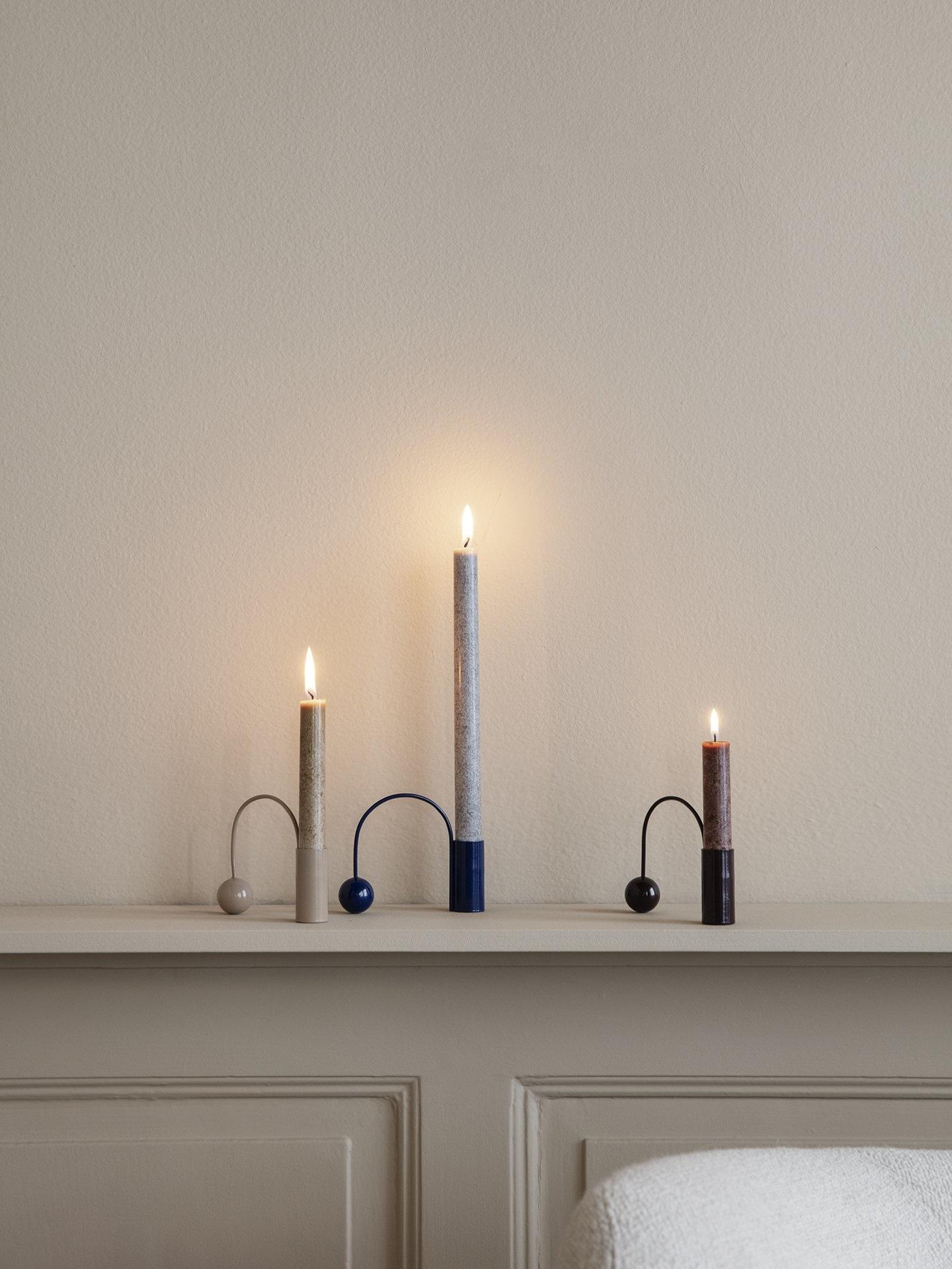 Ferm Living Balance Candle Holder - Macaroon