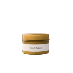 Brand + Iron Sweet Balsam Travel Tin Candle