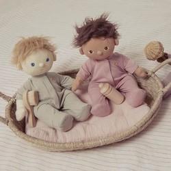 Olli Ella Dinkum Doll PJ's - Sage
