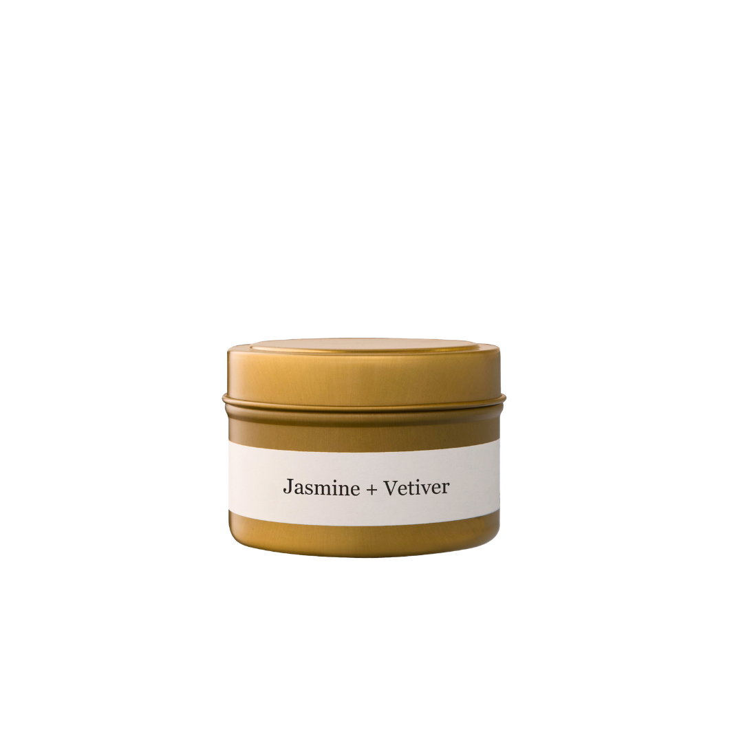Brand + Iron Jasmine + Vetiver Travel Tin Candle