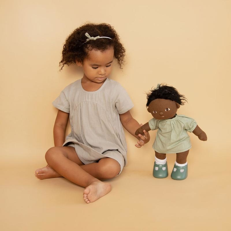Olli Ella Dinkum Doll Travel Togs - Mint