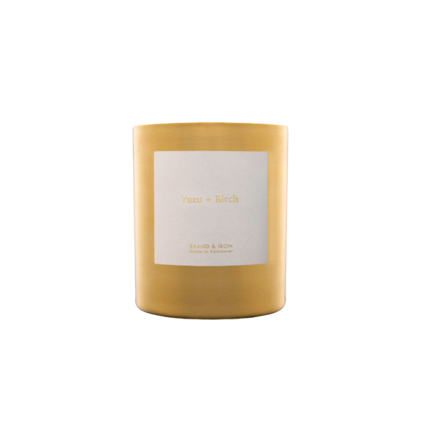 Brand + Iron Goldie Yuzu + Birch Soy Candle