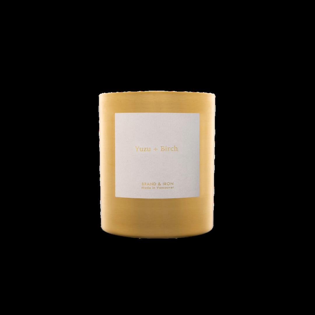 Brand + Iron Goldie Yuzu + Birch Soy Candle