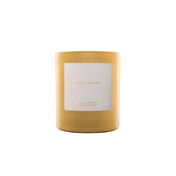 Brand + Iron Goldie Sweet Balsam Soy Candle