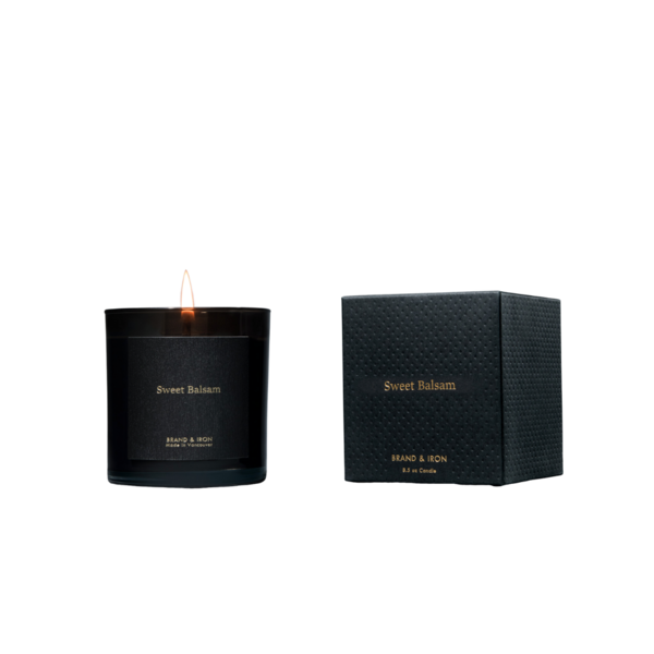 Brand + Iron Sweet Balsam Soy Candle