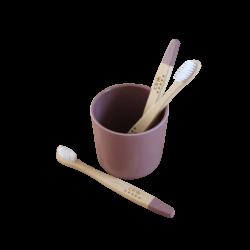 Cink Bamboo Toothbrush - Beet