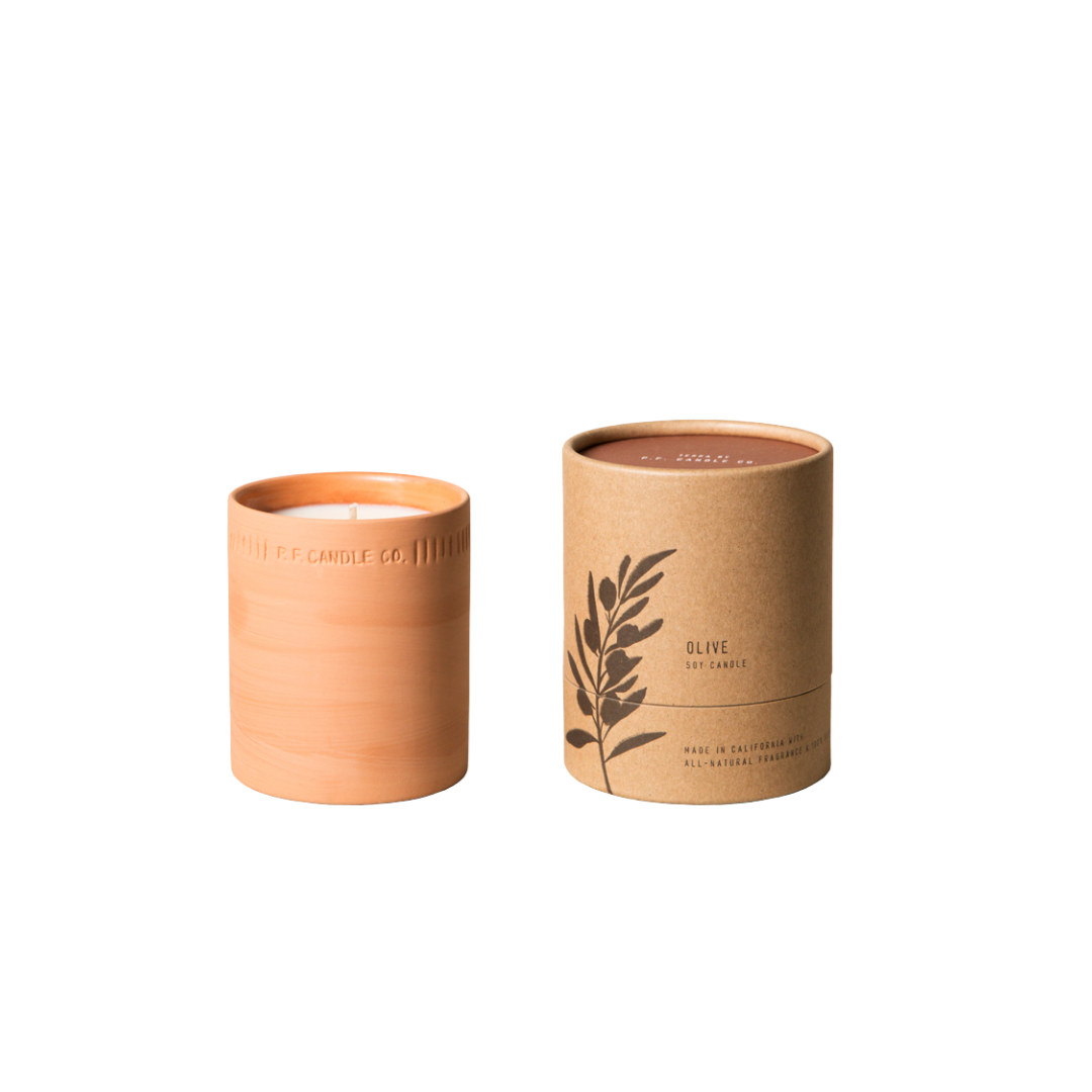 P. F. Candle Co. Olive Terra Soy Candle