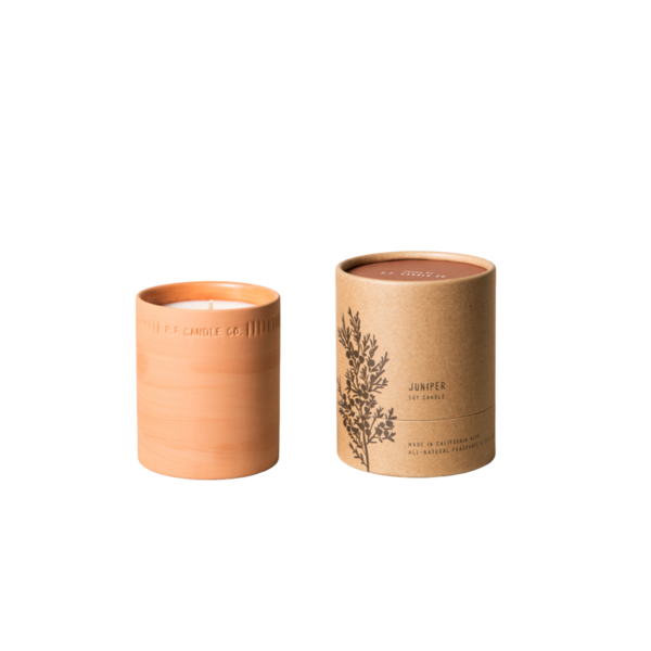 P. F. Candle Co. Juniper Terra Soy Candle