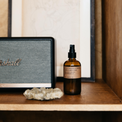 P. F. Candle Co. Teakwood & Tobacco Room  + Linen Spray