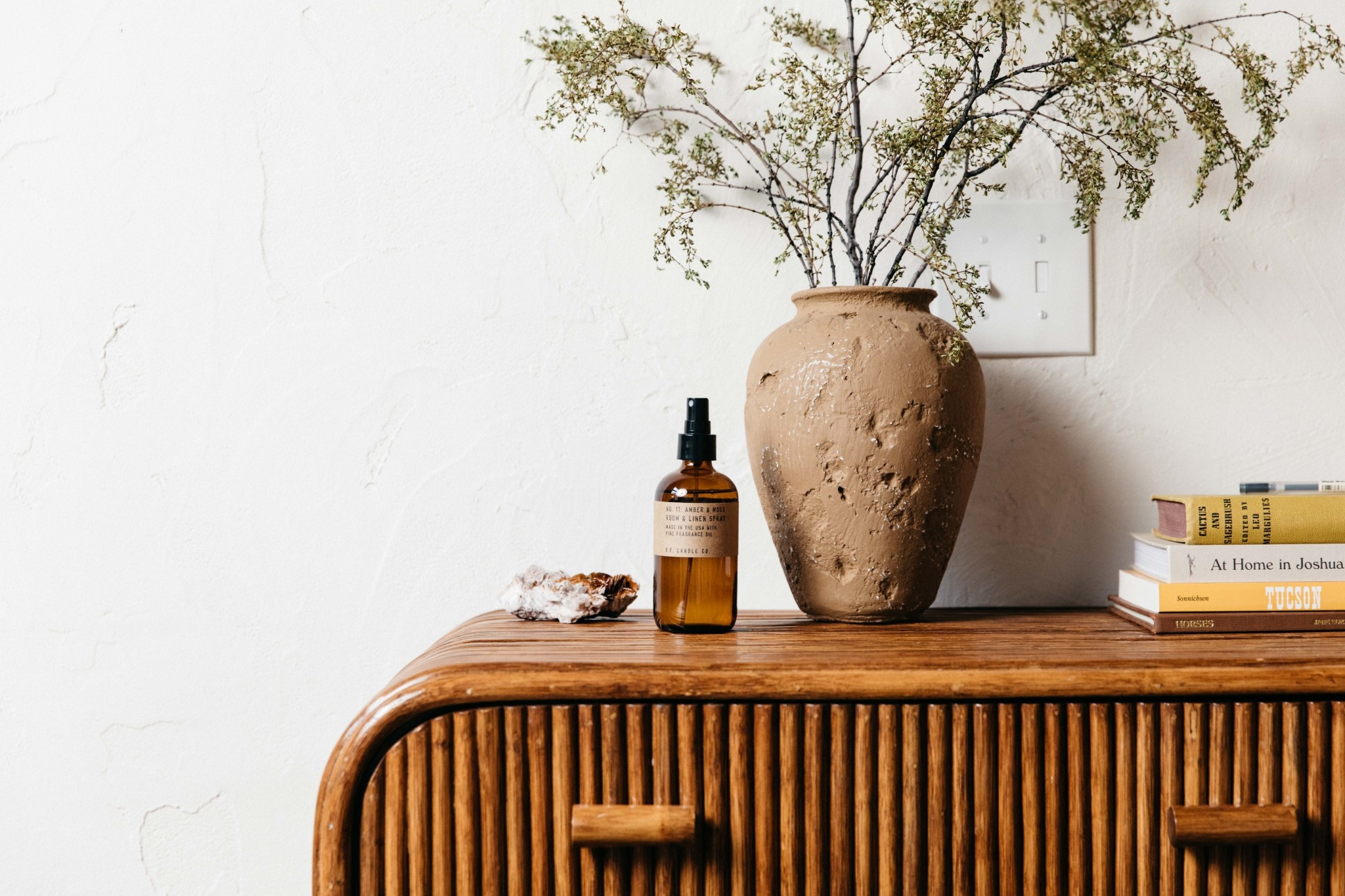 P. F. Candle Co. Amber & Moss Room + Linen Spray