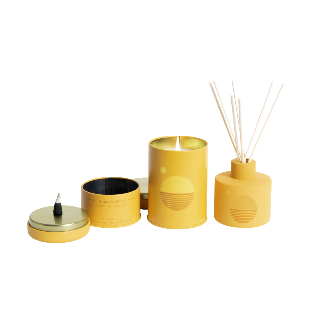 P. F. Candle Co. Sunset Collection Incense Cones Golden Hour