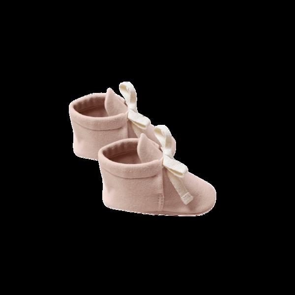 Quincy Mae Baby Booties - Petal