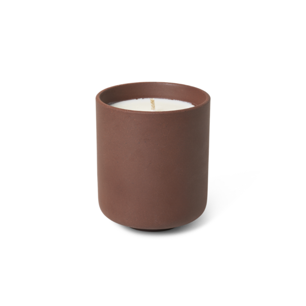 Ferm Living Sekki Scented Soy Candle Rust - Large