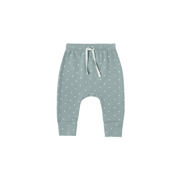 Quincy Mae Drawstring Pants - Ocean