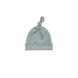 Quincy Mae Knotted Baby Hat - Ocean