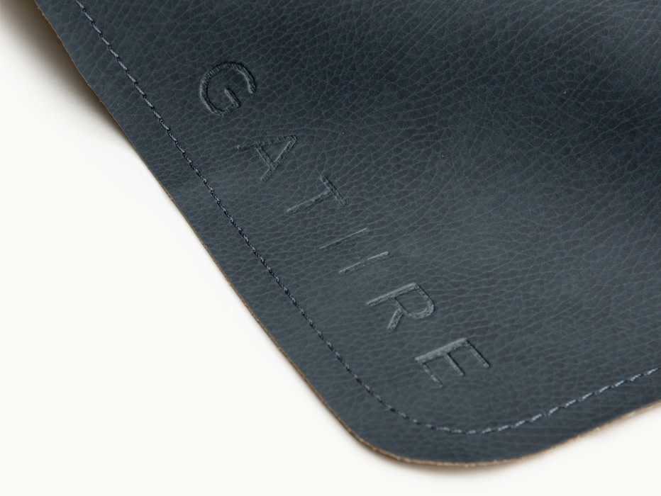 Gathre Micro Leather Change Mat Raven
